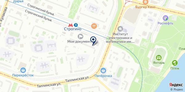 KDL на карте Москве
