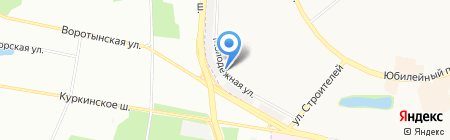 Киоск по продаже хлебобулочных изделий на карте Химок