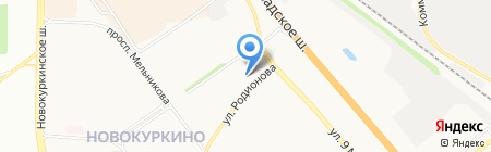 Ленинградский на карте Химок