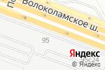 Схема проезда до компании Hyndai Genser в Москве