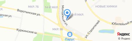 ХиТеС на карте Химок