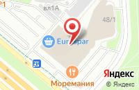 Схема проезда до компании Новый Взгляд в Москве