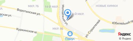 Евроштамп на карте Химок