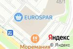 Схема проезда до компании Планета Колготок в Москве