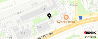 Все Виды Страхования на карте Москвы