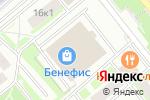 Схема проезда до компании Detreeze в Москве