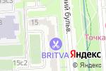 Схема проезда до компании Застеколье в Москве
