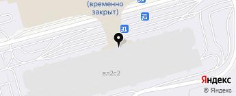 Шереметьево Паркинг на карте Москвы