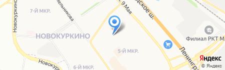Бизнес-Сервис на карте Химок