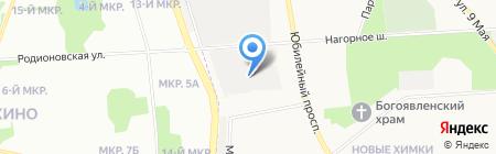 ХИМДОР на карте Химок