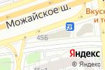 Схема проезда до компании Серебряная нить в Москве