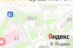 Схема проезда до компании Тройка в Москве