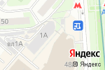 Схема проезда до компании Дублер в Москве