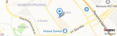 Банкомат Банк Финансовая Корпорация Открытие на карте Химок