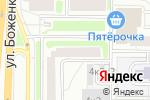 Схема проезда до компании Муниципальный фонд поддержки малого предпринимательства Западного административного округа в Москве