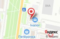 Схема проезда до компании ОФИСМАГ в Серпухове