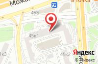 Схема проезда до компании Ультрамарин в Москве