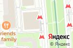 Схема проезда до компании MENZA в Москве