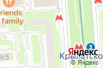 Схема проезда до компании Jast Salon в Москве