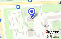Схема проезда до компании ТФ КОНТАКТ в Москве