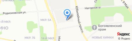СтройКомЭкс на карте Химок