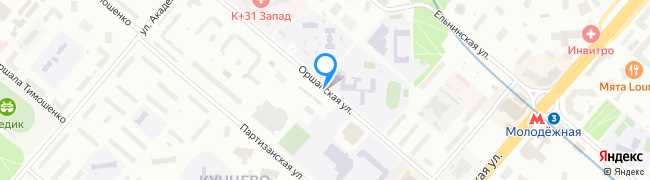 Оршанская улица