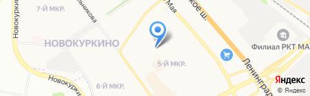 АПУ-Химки на карте Химок