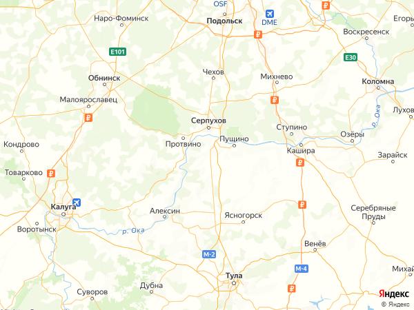коттеджный посёлок Романовские Дворики 2 на карте