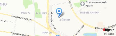 МГИУ на карте Химок
