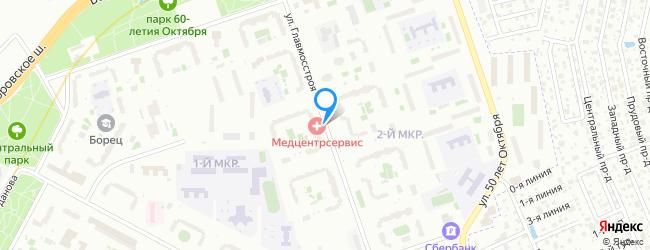 улица Главмосстроя