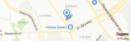 ОкнаМобифон на карте Химок