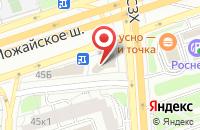 Схема проезда до компании Фас в Москве
