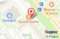 Схема проезда до компании Ланил в Москве