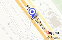 Схема проезда до компании АЗС № 4 АМОКС в Москве