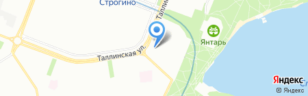 Фабрика обуви на карте Москвы