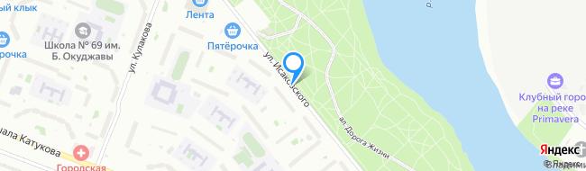 улица Исаковского