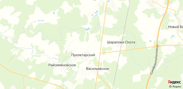 Старые Кузьменки на карте
