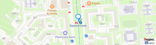 метро Крылатское