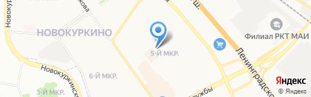 Химкинская торгово-промышленная палата на карте Химок