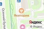Схема проезда до компании Brand-Studio №1 в Москве