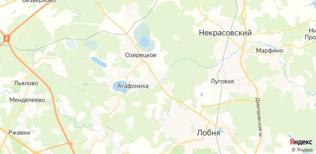Совхоза Останкино на карте