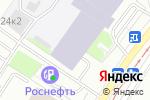 Схема проезда до компании Парус-Телеком в Москве