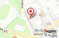 Схема проезда до компании Компания по продаже гипсовых 3D-панелей в Серпухове