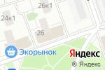Схема проезда до компании Цветы мечты в Москве