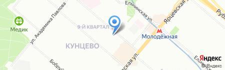 Экспо Глобал Груп на карте Москвы