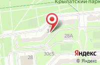 Схема проезда до компании ДС-строй в Москве