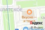 Схема проезда до компании Juicy & derox lab. в Москве