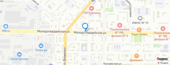 Молодогвардейская улица