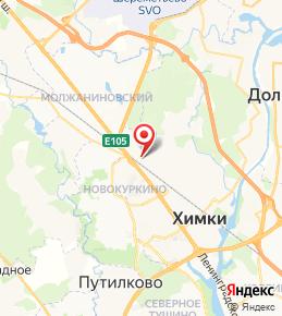 ЖК «Две Столицы» в г. Химки на карте