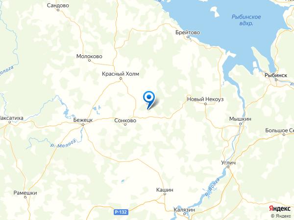 деревня Дуброво на карте